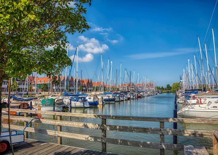 Marina of Volendam
