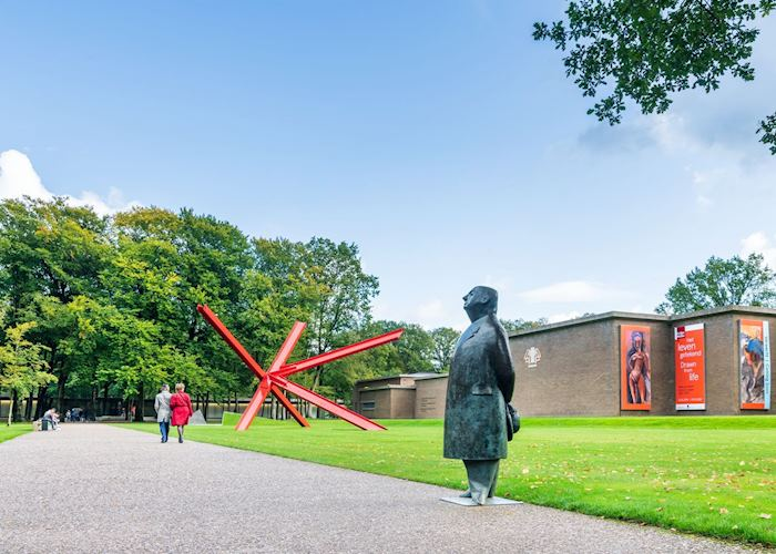 The grounds of the Kröller-Müller Museum