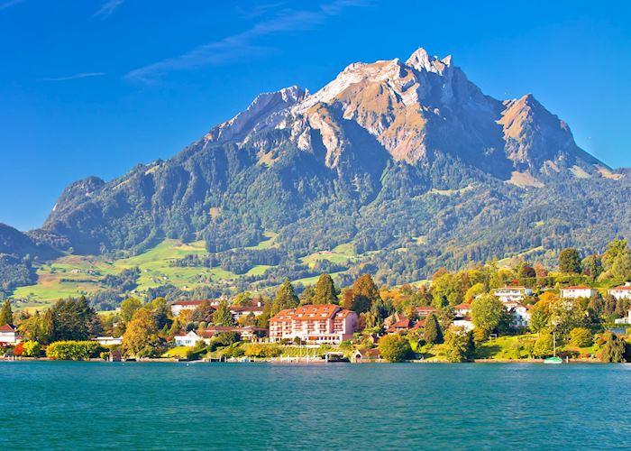 Mount Pilatus from Lake Lucerne