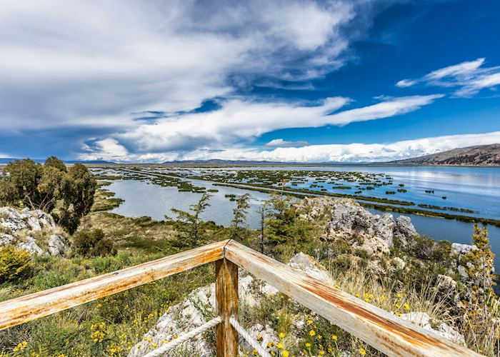 The view from GHL Lake Titicaca, Puno