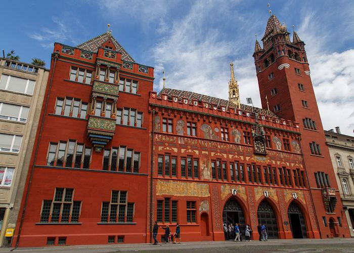 City hall, Basel