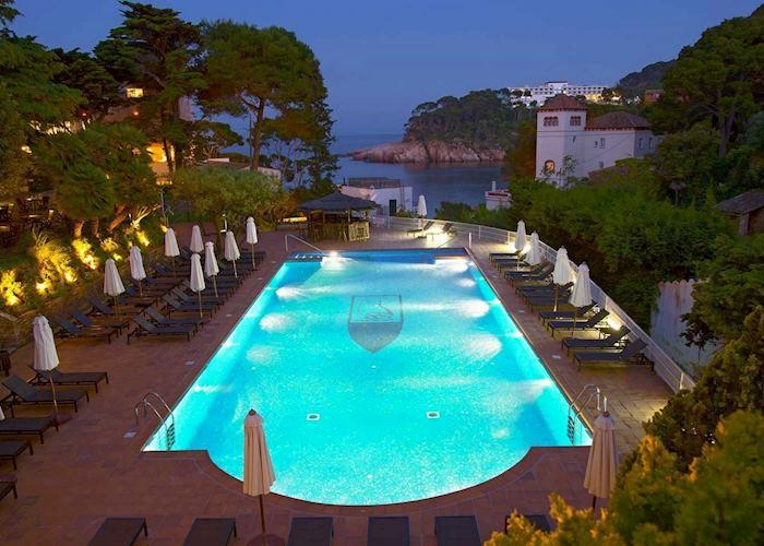 Pool, Hotel Aigua Blava