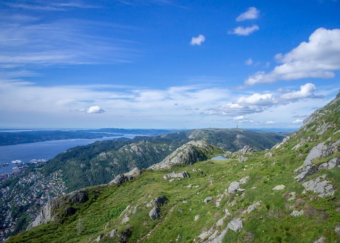 View from Mount Ulriken