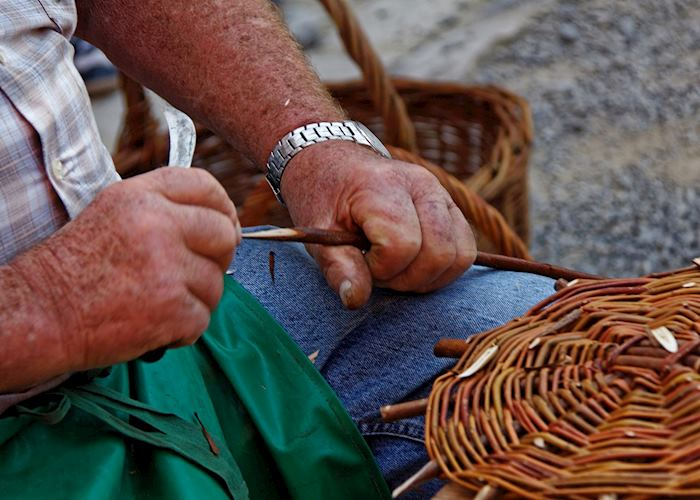 Traditional basket weaving, Cyprus