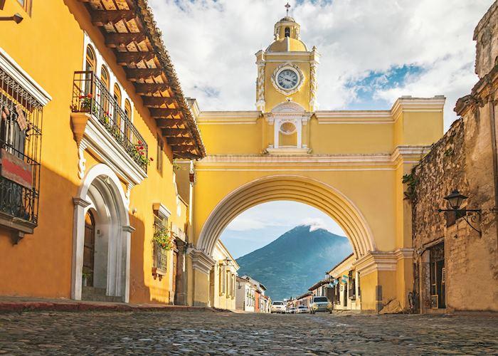 Santa Catalina Arch in Antigua