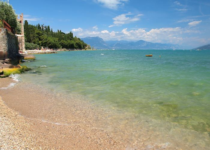 Sirmione beach, Lake Garda