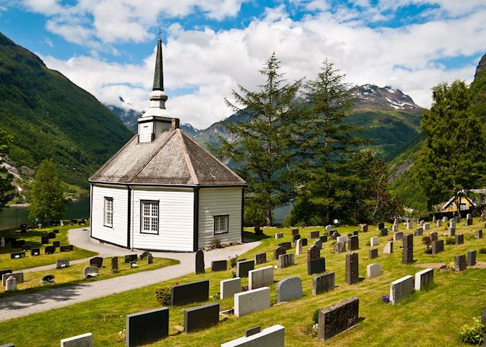 Church near Geiranger