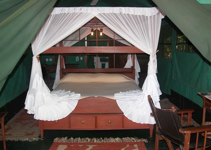 Luxury tent, Samburu Intrepids, Samburu