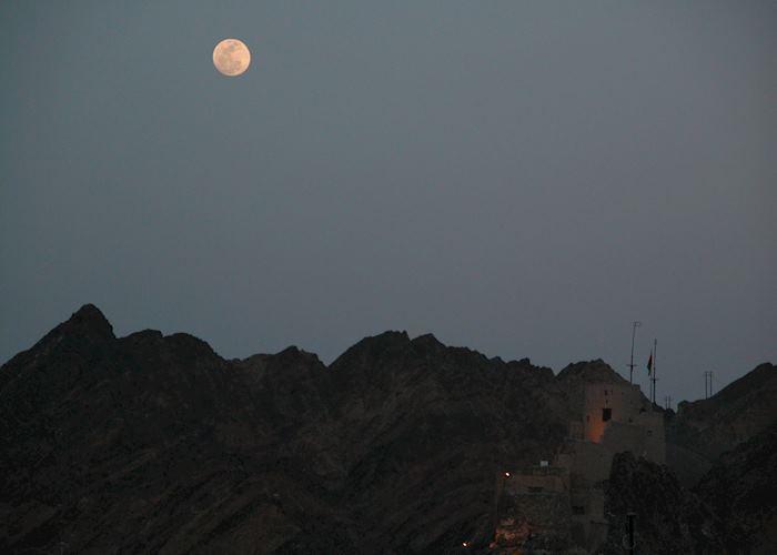 Muscat at moonlight