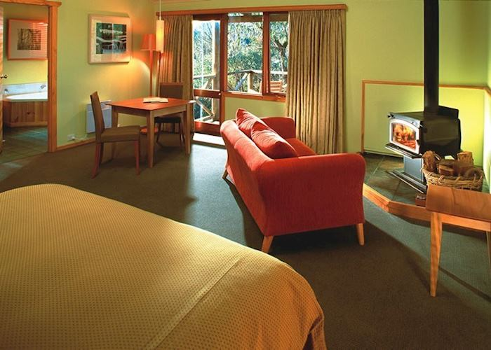 Spa suite, Cradle Mountain Lodge, Cradle Mountain