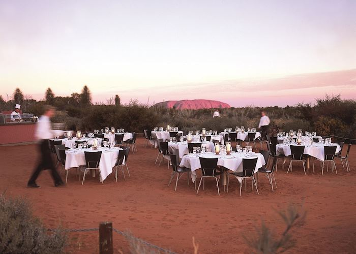 Sounds of Silence dinner, Uluru