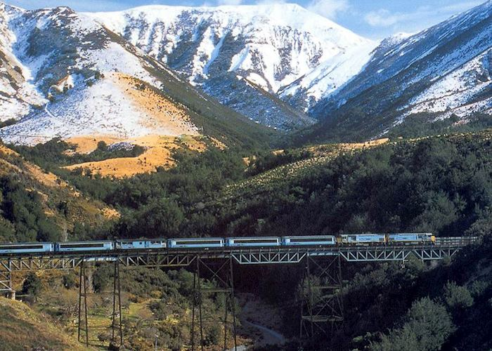 The TranzAlpine Train, New Zealand