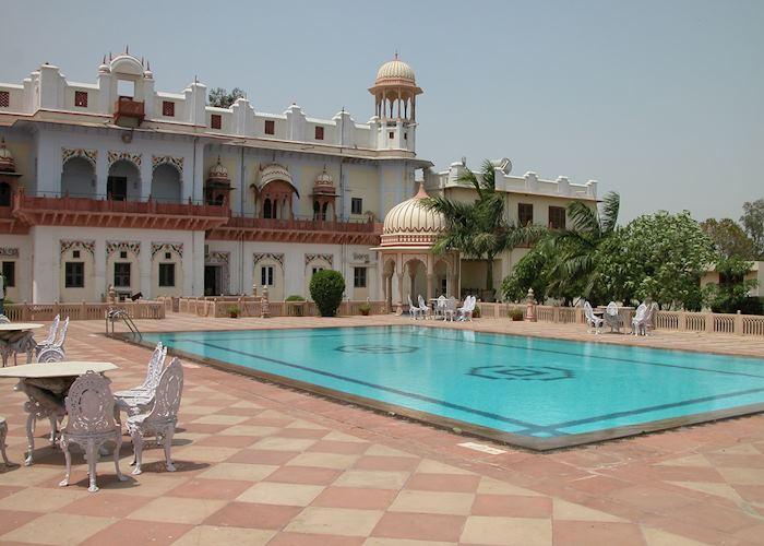 Laxmi Vilas Palace Pool