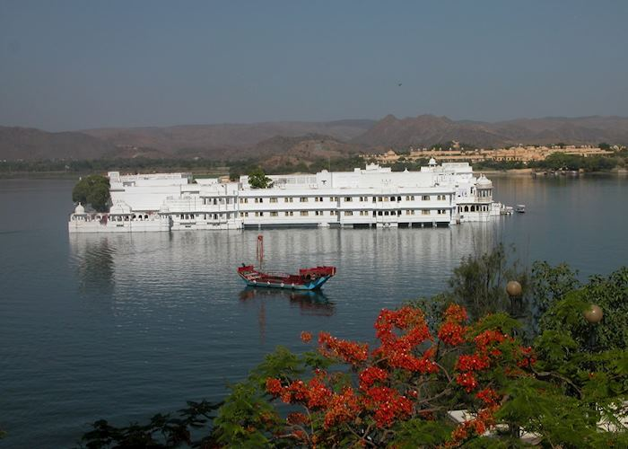 View of Lake Palace Hotel