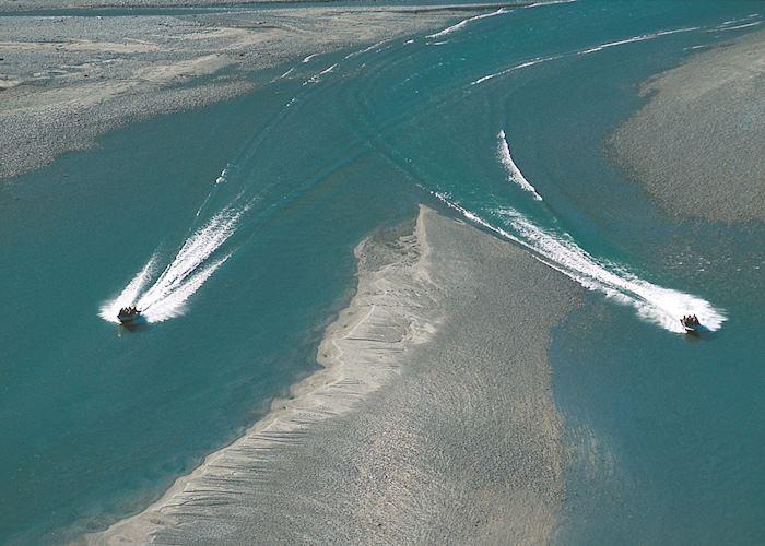 Jet boats, Siberia Experience, Wanaka