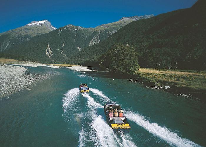 Jet boat, Siberia Experience
