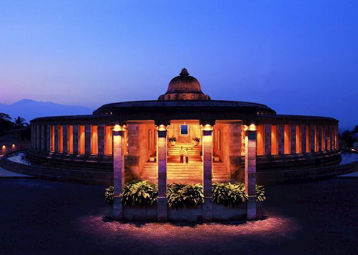 Entrance of the stunning Amanjiwo, Yogyakarta