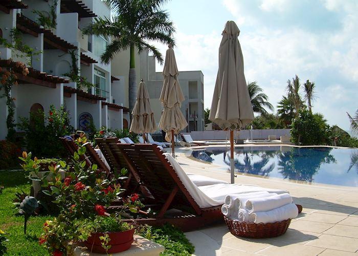 Pool at Villa Rolandi, Isla Mujeres