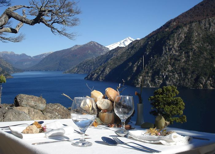Dinner on a cliff edge, Cordillera Gourmet Day