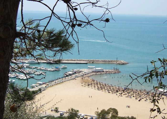 Sidi Bou Said marina, Tunisia