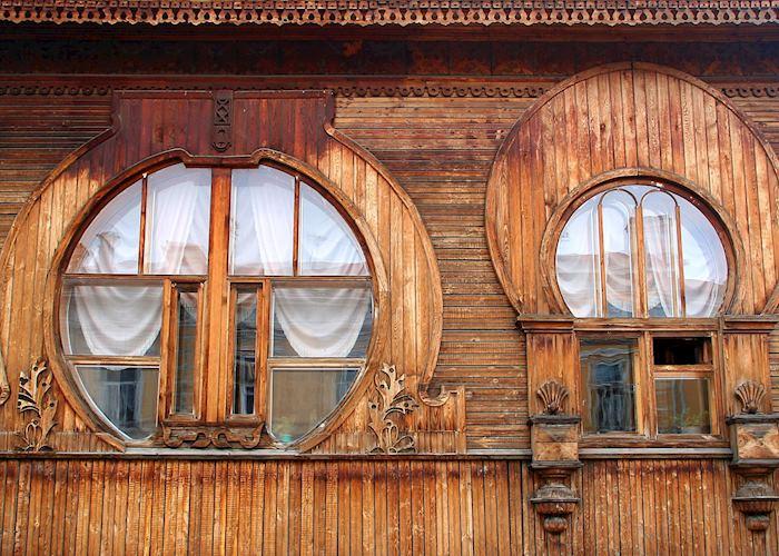 Wooden building, Ekaterinburg
