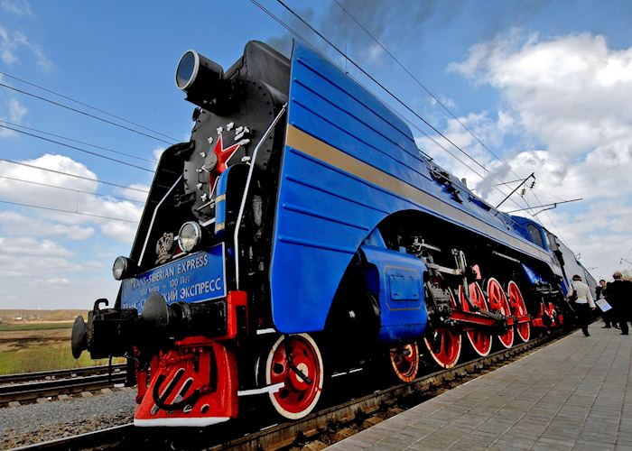 Trans-Siberian Train, Moscow