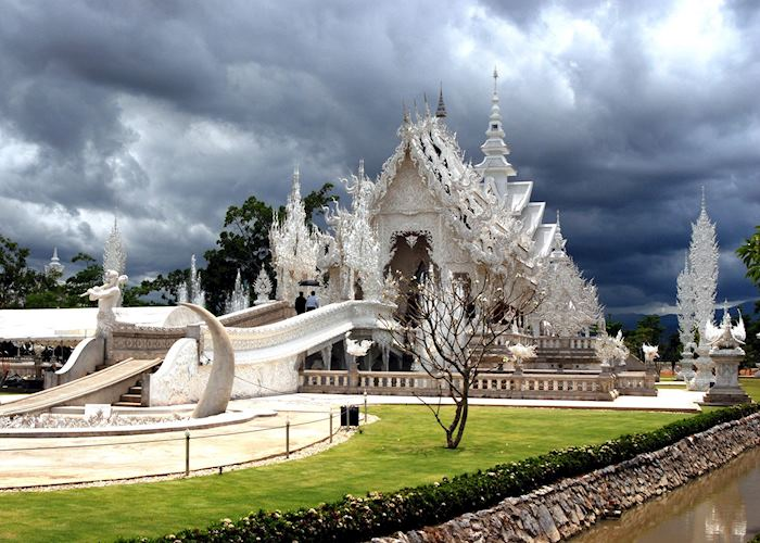 Wat Rong Khun in the Chiang Rai province