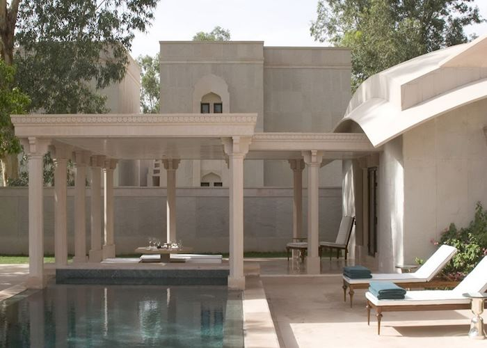 Pool Pavillion, Amanbagh