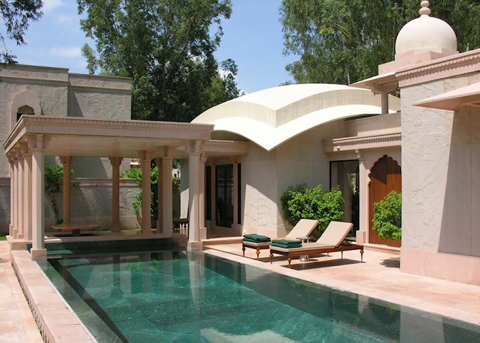 Pool Pavilion, Amanbagh, Alwar