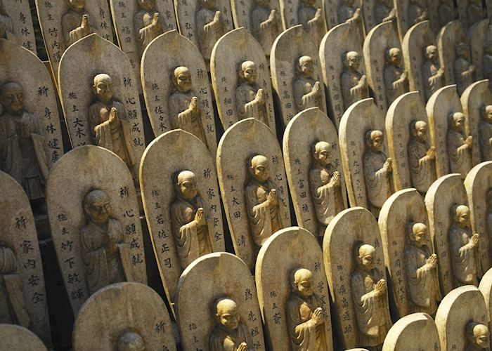 Buddhist statues, Miyajima