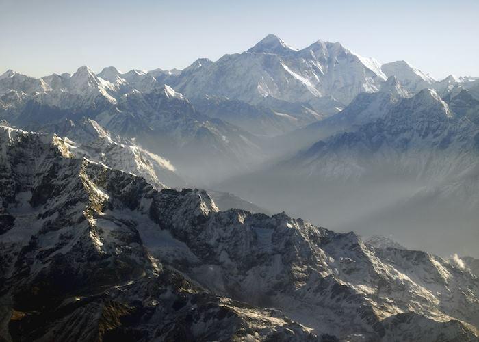 Views of Mt Everest 8,850 m, Nepal