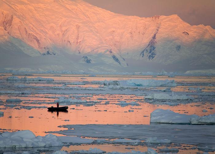 A polar scene