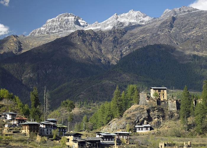 Drukgyel Dzong, near Paro, Bhutan