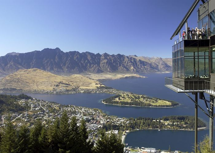 View from the Skyline Gondola, Queenstown