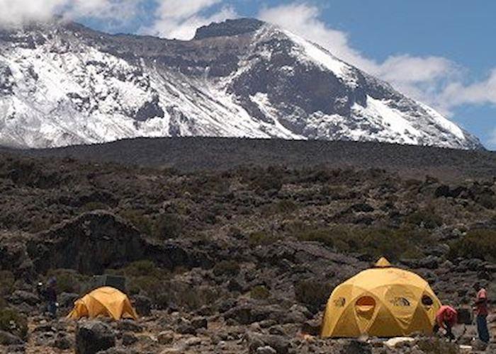 Mountain tent, Mount Kilimanjaro