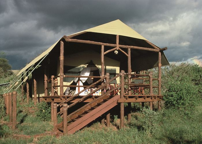 Luxury Tent, Kirawira Tented Camp