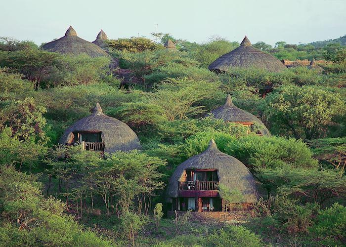 Serena lodge, Serengeti National Park