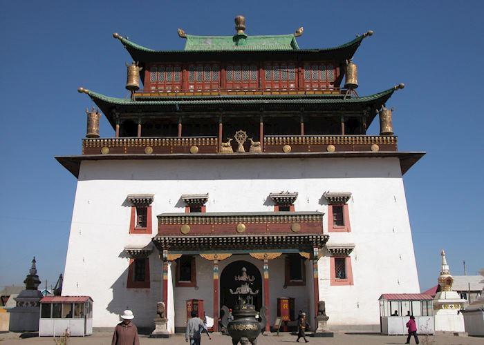 Gandan Monestery, Ulaan Bataar