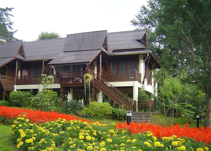 The Garden View rooms at the Angkhang Nature Resort, Doi Angkhang