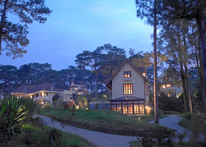 Twilight at the Ana Mandara Villas, Dalat