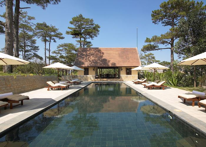 The pool at the Ana Mandara Villas, Dalat