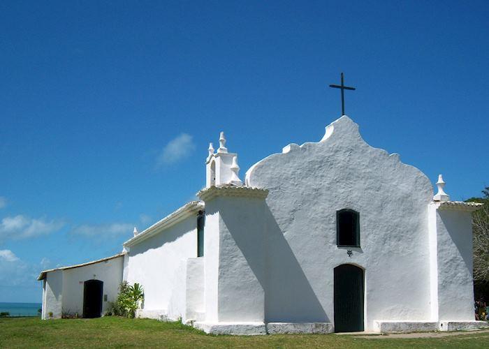 Church at Trancoso, Brazil