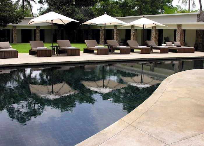 Pool at the Amansara, Siem Reap