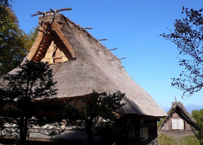 Thatched houses, Hida folk village