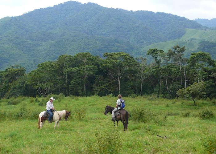 Horse trekking at the Finca