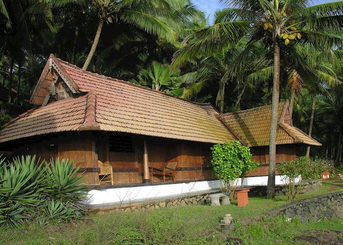 Seafront room (fan-cooled), Surya Samudra Beach Resort, Kovalam