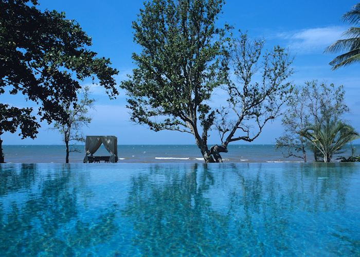 Infinity pool, Knai Bang Chatt, Kep