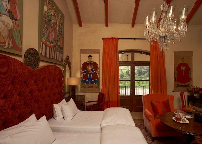 The Tibetan room