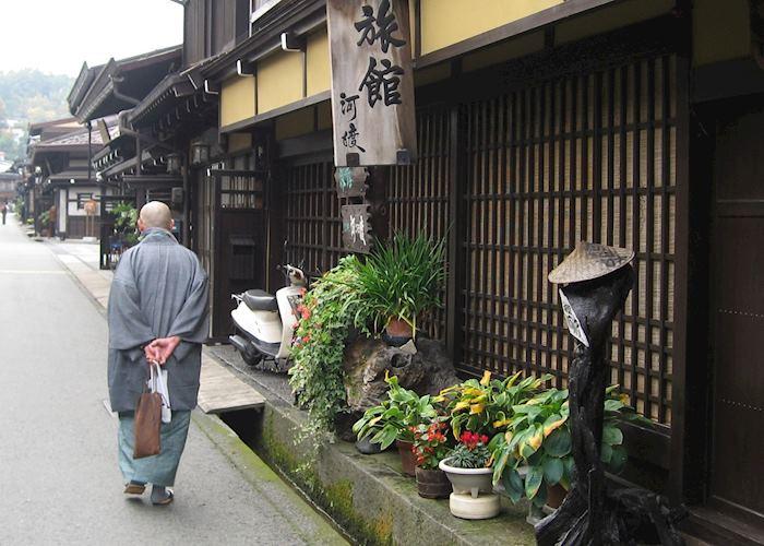 Monk in Takayama