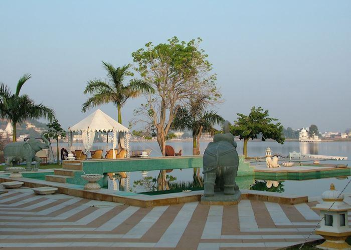 Swimming pool, Udai Bilas Palace, Dungarpur